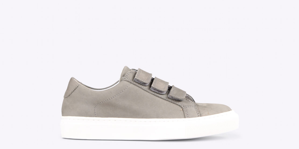 womens – Bonni velcro nubuck grey