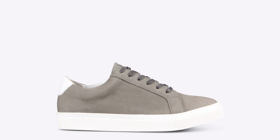 Ray low nubuck grey