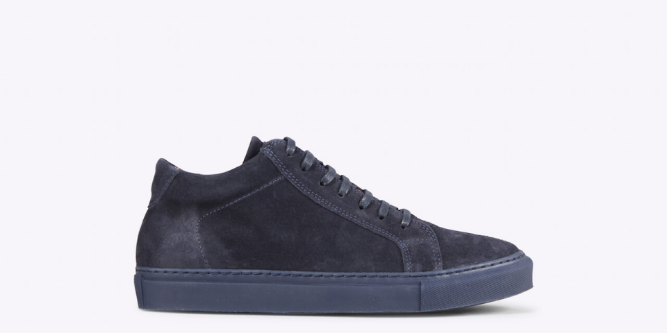 Ray midcut suede navy