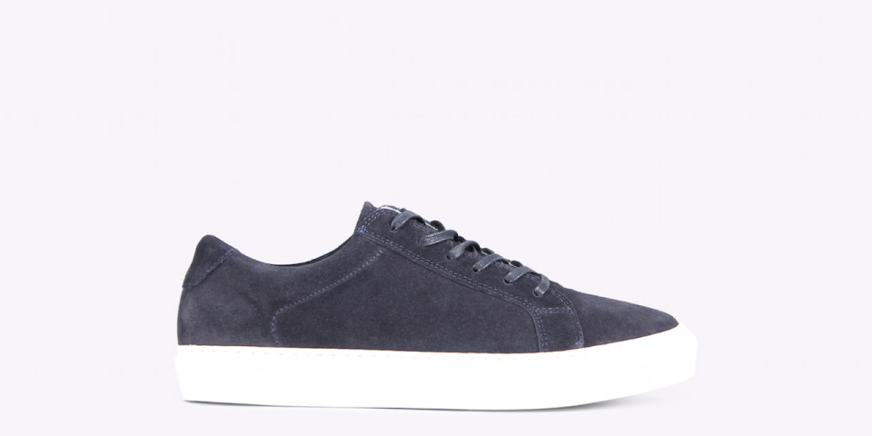 Ray low suede navy