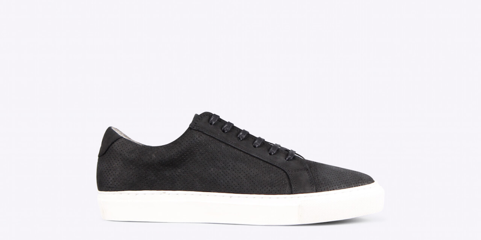 Ray low pref nubuck black