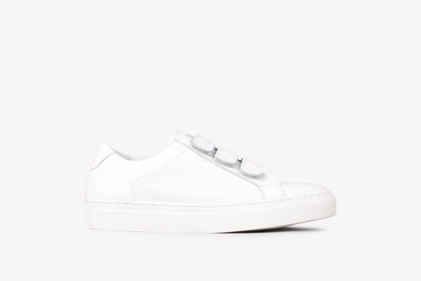 Womens – bent velcro ox white