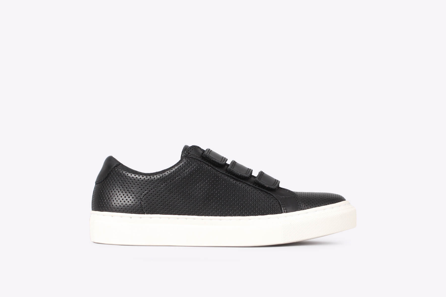 Womens – Bent velcro pref black